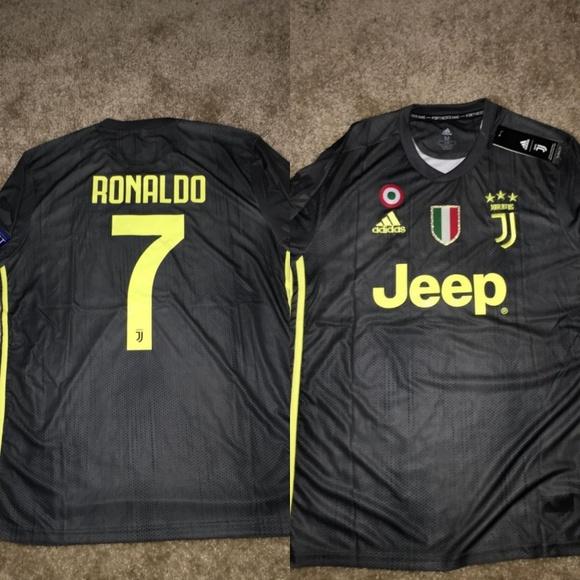 3cfe95c1a adidas Shirts | Juventus Third Away 1819 Jersey Ucl Ronaldo7 | Poshmark